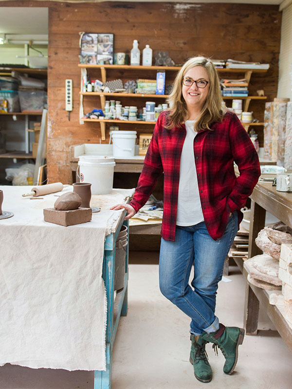 about the studio melissa monroe pottery